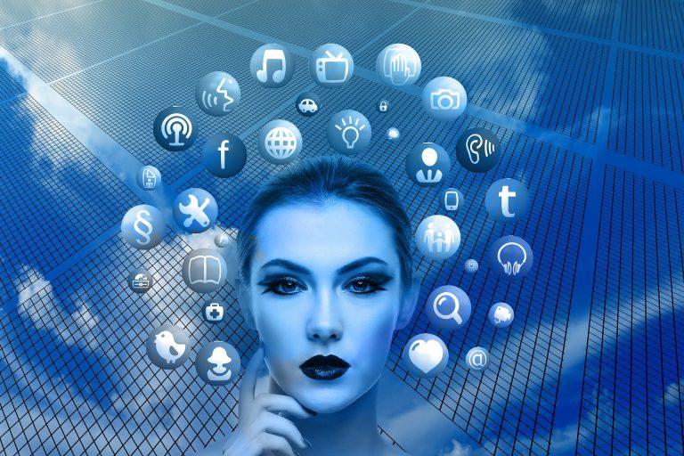 virtual support social media